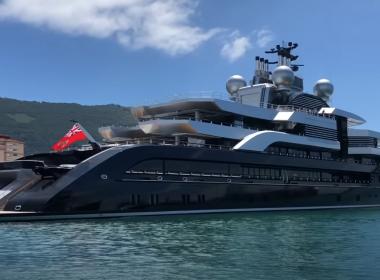 Crescent superyacht