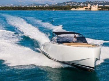 vanquish 48 yacht drone