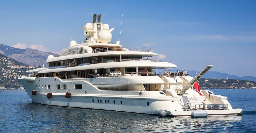 Al Raya superyacht e1629365302768