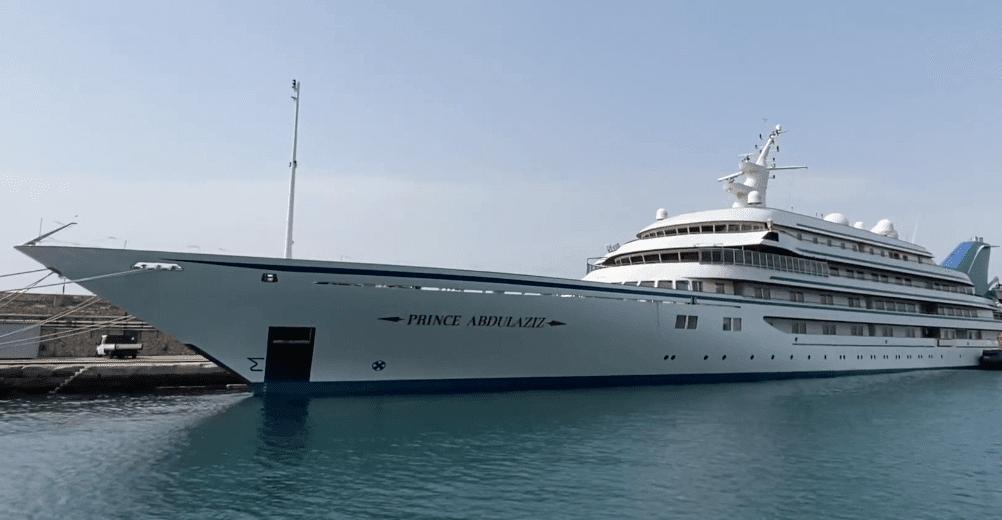 Prince Abdulaziz superyacht e1629351016110