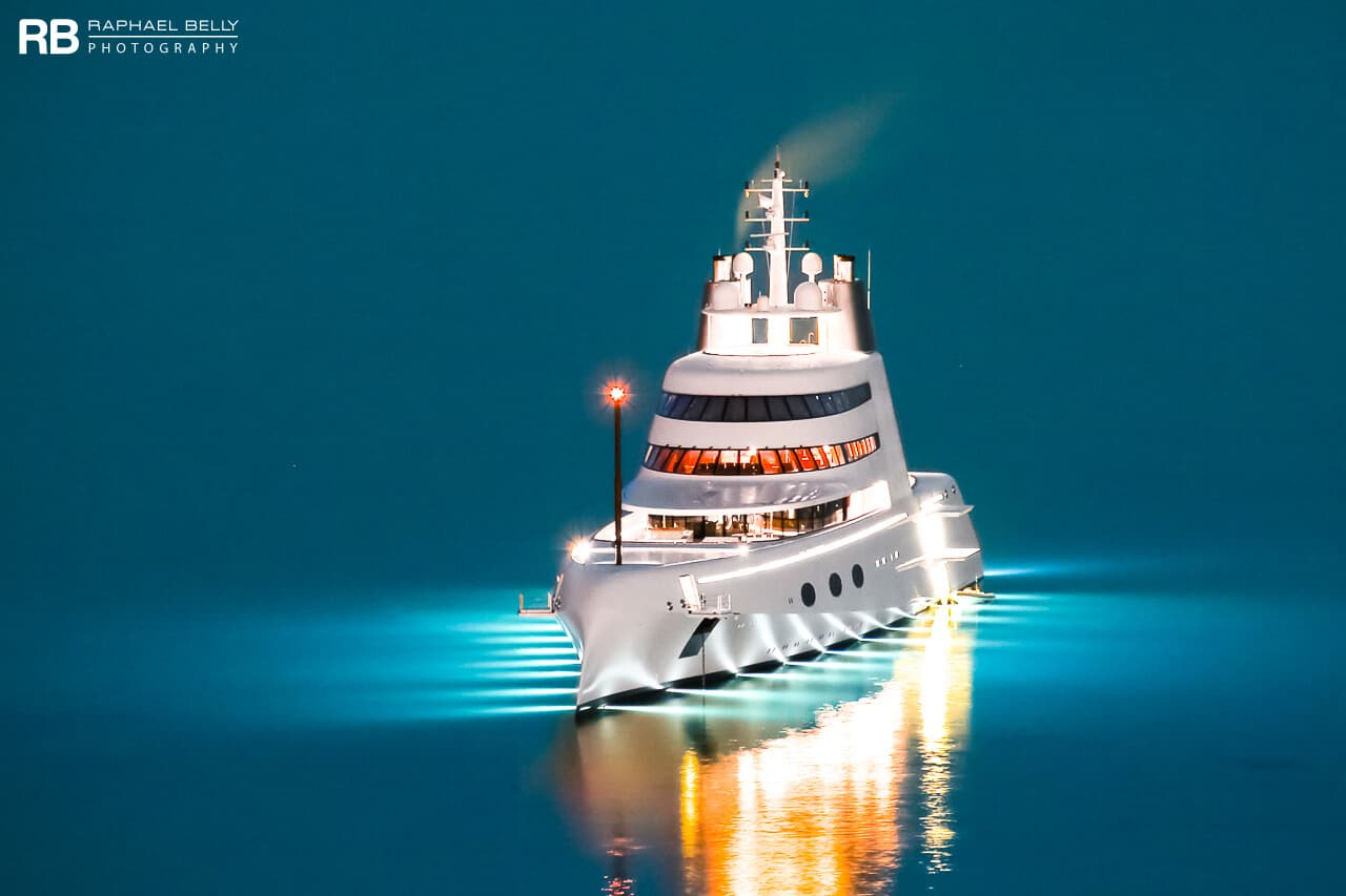 motor yacht a 1